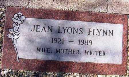 FLYNN, JEAN - Maricopa County, Arizona | JEAN FLYNN - Arizona Gravestone Photos