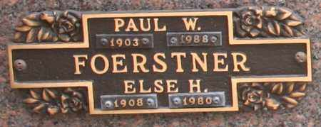 FOERSTNER, PAUL W - Maricopa County, Arizona | PAUL W FOERSTNER - Arizona Gravestone Photos