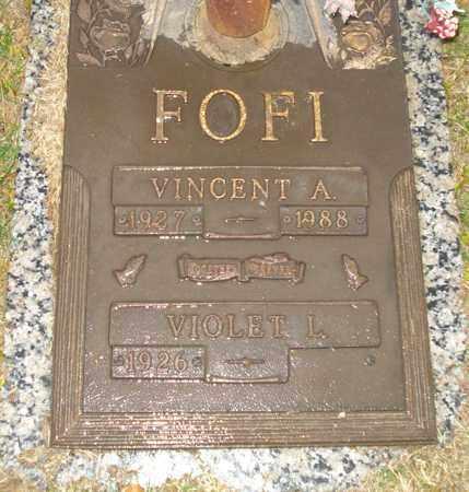 FOFI, VINCENT A. - Maricopa County, Arizona | VINCENT A. FOFI - Arizona Gravestone Photos
