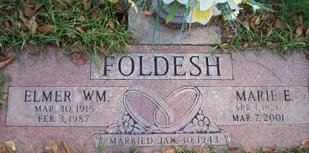 FOLDESH, ELMER WM. - Maricopa County, Arizona | ELMER WM. FOLDESH - Arizona Gravestone Photos