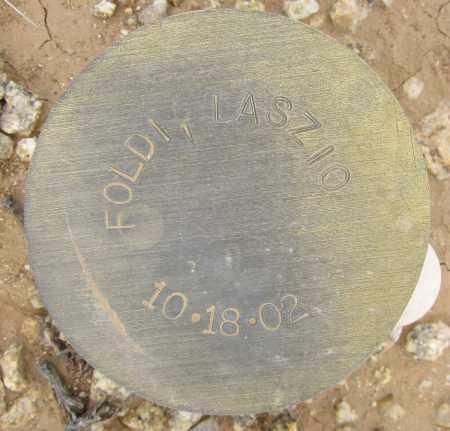 FOLDI, LASZIO - Maricopa County, Arizona   LASZIO FOLDI - Arizona Gravestone Photos