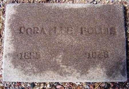 BARRETT FOLLIS, CORA LEE - Maricopa County, Arizona   CORA LEE BARRETT FOLLIS - Arizona Gravestone Photos