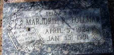 FOLLMAR, MARJORIE ROSE - Maricopa County, Arizona   MARJORIE ROSE FOLLMAR - Arizona Gravestone Photos