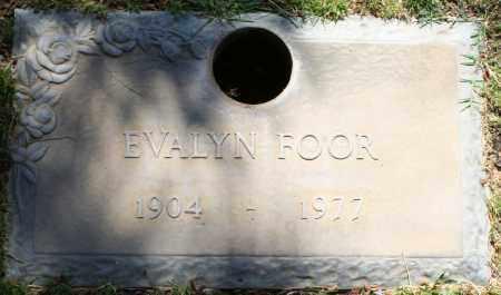 FOOR, EVALYN - Maricopa County, Arizona   EVALYN FOOR - Arizona Gravestone Photos