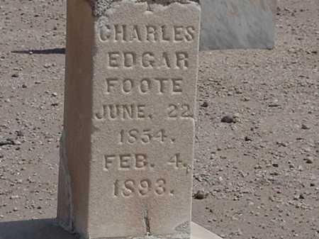FOOTE, CHARLES EDGAR - Maricopa County, Arizona   CHARLES EDGAR FOOTE - Arizona Gravestone Photos