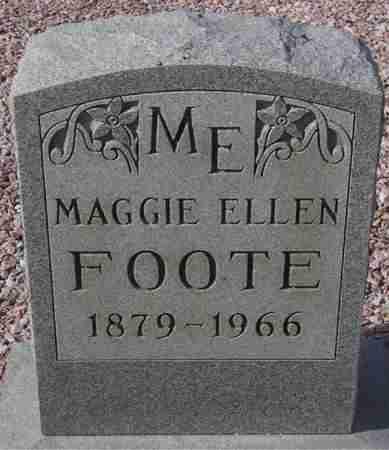 FOOTE, MAGGIE ELLEN - Maricopa County, Arizona   MAGGIE ELLEN FOOTE - Arizona Gravestone Photos