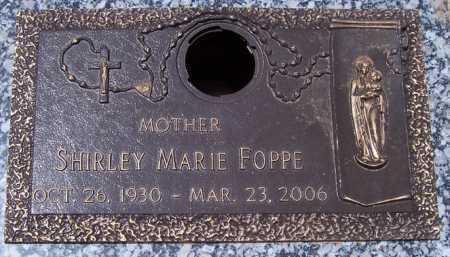 FOPPE, SHIRLEY MARIE - Maricopa County, Arizona | SHIRLEY MARIE FOPPE - Arizona Gravestone Photos