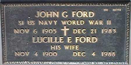 FORD, JOHN G. - Maricopa County, Arizona | JOHN G. FORD - Arizona Gravestone Photos