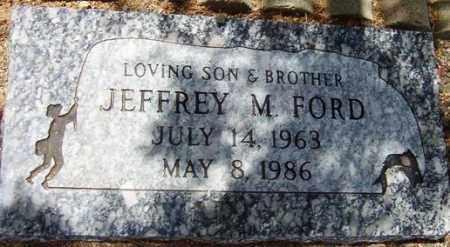 FORD, JEFFREY M. - Maricopa County, Arizona   JEFFREY M. FORD - Arizona Gravestone Photos