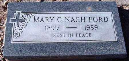 NASH FORD, MARY C. - Maricopa County, Arizona | MARY C. NASH FORD - Arizona Gravestone Photos