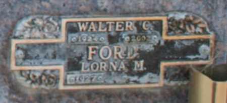 FORD, LORNA M - Maricopa County, Arizona | LORNA M FORD - Arizona Gravestone Photos