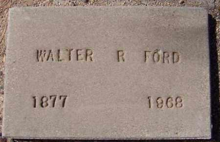 FORD, WALTER R. - Maricopa County, Arizona | WALTER R. FORD - Arizona Gravestone Photos