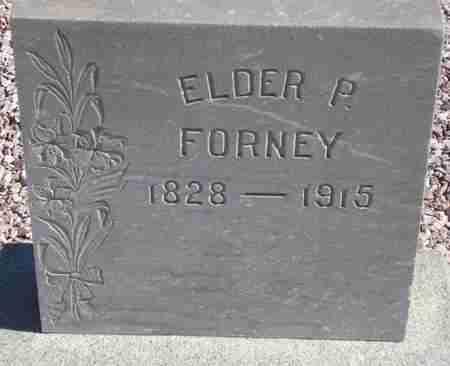 FORNEY, ELDER P. - Maricopa County, Arizona   ELDER P. FORNEY - Arizona Gravestone Photos