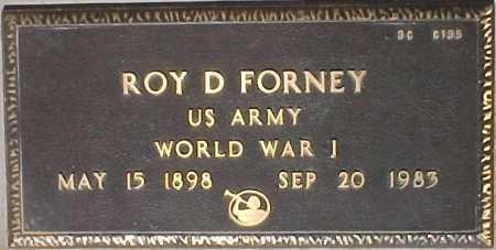 FORNEY, ROY D. - Maricopa County, Arizona | ROY D. FORNEY - Arizona Gravestone Photos