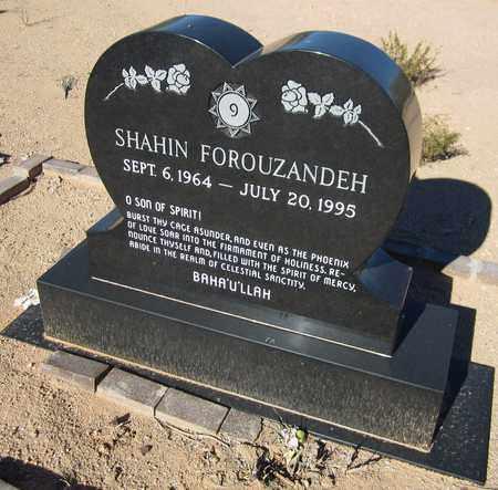 FOROUZANDEH, SHAHIN - Maricopa County, Arizona | SHAHIN FOROUZANDEH - Arizona Gravestone Photos