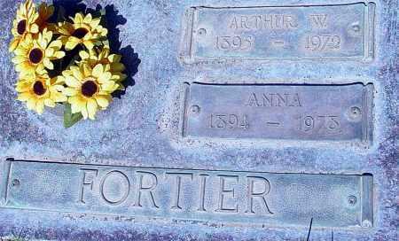 FORTIER, ARTHUR W. - Maricopa County, Arizona | ARTHUR W. FORTIER - Arizona Gravestone Photos