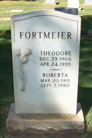 FORTMEIER, THEODORE - Maricopa County, Arizona   THEODORE FORTMEIER - Arizona Gravestone Photos