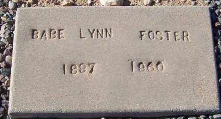 FOSTER, BABE LYNN - Maricopa County, Arizona | BABE LYNN FOSTER - Arizona Gravestone Photos