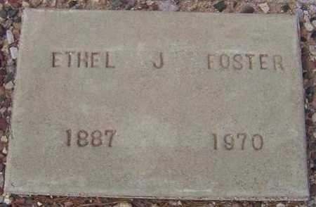 FOSTER, ETHEL J. - Maricopa County, Arizona   ETHEL J. FOSTER - Arizona Gravestone Photos