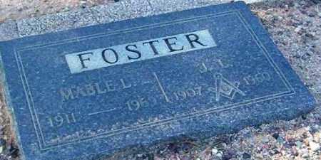 FOSTER, MABEL L. - Maricopa County, Arizona | MABEL L. FOSTER - Arizona Gravestone Photos