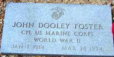 FOSTER, JOHN DOOLEY - Maricopa County, Arizona | JOHN DOOLEY FOSTER - Arizona Gravestone Photos