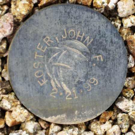 FOSTER, JOHN, F. - Maricopa County, Arizona | JOHN, F. FOSTER - Arizona Gravestone Photos
