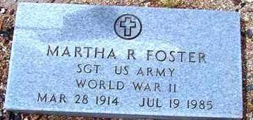 FOSTER, MARTHA R. - Maricopa County, Arizona   MARTHA R. FOSTER - Arizona Gravestone Photos