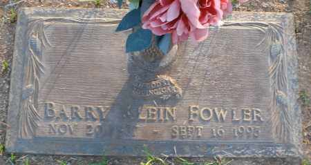 FOWLER, BARRY KLEIN - Maricopa County, Arizona | BARRY KLEIN FOWLER - Arizona Gravestone Photos