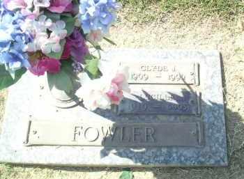 FOWLER, CLYDE J. - Maricopa County, Arizona | CLYDE J. FOWLER - Arizona Gravestone Photos