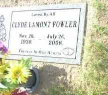 FOWLER, CLYDE LAMONT - Maricopa County, Arizona | CLYDE LAMONT FOWLER - Arizona Gravestone Photos