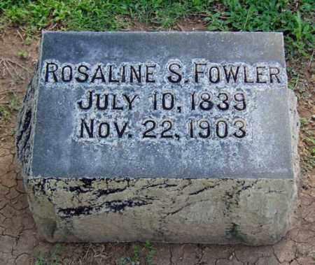 TAYLOR FOWLER, ROSALINE S. - Maricopa County, Arizona | ROSALINE S. TAYLOR FOWLER - Arizona Gravestone Photos