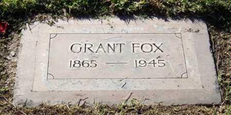FOX, TITUS GRANT - Maricopa County, Arizona | TITUS GRANT FOX - Arizona Gravestone Photos
