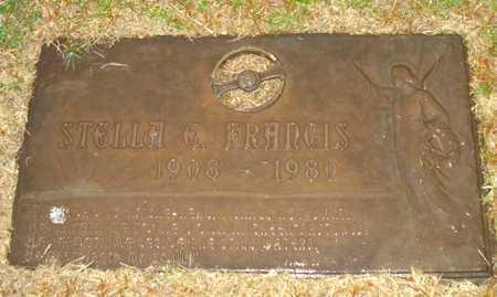 FRANCIS, STELLA E. - Maricopa County, Arizona | STELLA E. FRANCIS - Arizona Gravestone Photos