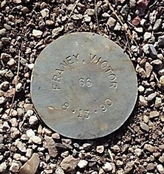 FRANEY, VICTOR - Maricopa County, Arizona | VICTOR FRANEY - Arizona Gravestone Photos