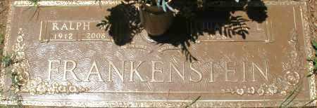 FRANKENSTEIN, RALPH W. - Maricopa County, Arizona | RALPH W. FRANKENSTEIN - Arizona Gravestone Photos