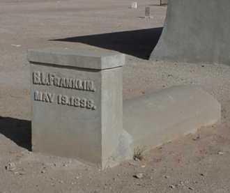 FRANKLIN, BENJAMIN J - Maricopa County, Arizona | BENJAMIN J FRANKLIN - Arizona Gravestone Photos