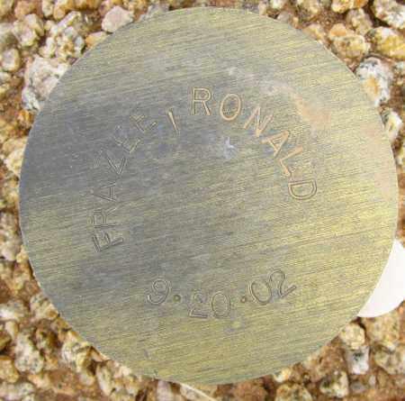 FRAZEE, RONALD - Maricopa County, Arizona | RONALD FRAZEE - Arizona Gravestone Photos