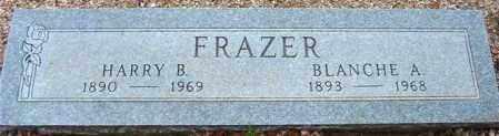 FRAZER, BLANCHE A. - Maricopa County, Arizona | BLANCHE A. FRAZER - Arizona Gravestone Photos