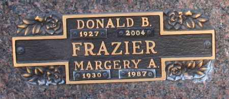 FRAZIER, DONALD B - Maricopa County, Arizona | DONALD B FRAZIER - Arizona Gravestone Photos
