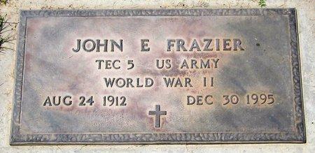 FRAZIER, JOHN E. - Maricopa County, Arizona | JOHN E. FRAZIER - Arizona Gravestone Photos
