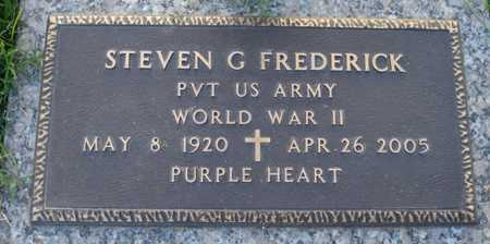 FREDERICK, STEVEN G. - Maricopa County, Arizona | STEVEN G. FREDERICK - Arizona Gravestone Photos