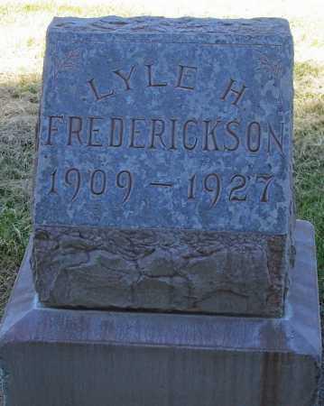 FREDERICKSON, LYLE H. - Maricopa County, Arizona | LYLE H. FREDERICKSON - Arizona Gravestone Photos