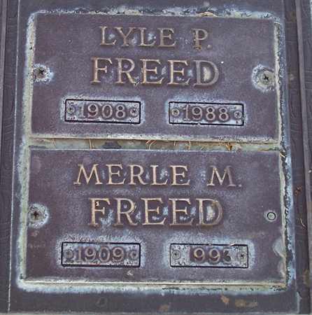 FREED, LYLE P. - Maricopa County, Arizona | LYLE P. FREED - Arizona Gravestone Photos