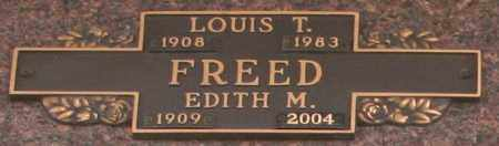 FREED, EDITH M - Maricopa County, Arizona | EDITH M FREED - Arizona Gravestone Photos