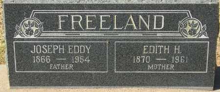 FREELAND, JOSEPH EDDY - Maricopa County, Arizona | JOSEPH EDDY FREELAND - Arizona Gravestone Photos
