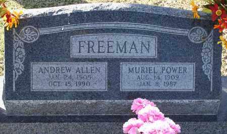 FREEMAN, MURIEL - Maricopa County, Arizona | MURIEL FREEMAN - Arizona Gravestone Photos