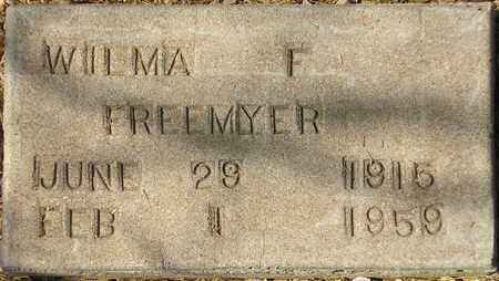 FREEMYER, WILMA F. - Maricopa County, Arizona | WILMA F. FREEMYER - Arizona Gravestone Photos