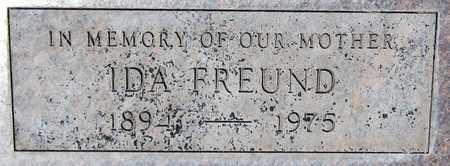 FREUND, IDA - Maricopa County, Arizona | IDA FREUND - Arizona Gravestone Photos