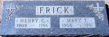 FRICK, HENRY CLAY - Maricopa County, Arizona | HENRY CLAY FRICK - Arizona Gravestone Photos