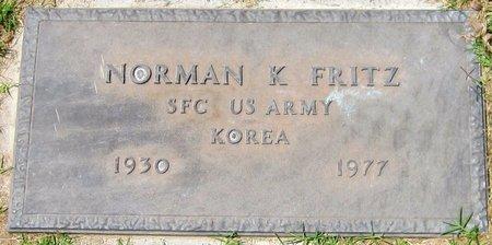 FRITZ, NORMAN K. - Maricopa County, Arizona   NORMAN K. FRITZ - Arizona Gravestone Photos